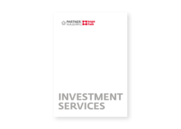 Investment Services (Englisch)